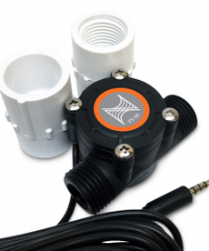 """Neptune systeme NEPTUNE Flow Sensor - 1/2"""" with Adapters"""