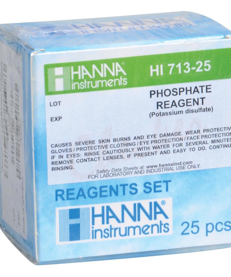HANNA Phosphate Low Range Reagent Set for HI 713 Checker HC - 25 Tests
