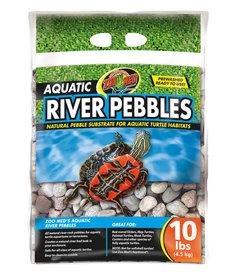 ZOO MED Aquatic River Pebbles - 10 lb
