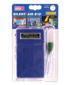 Penn Plax PENN PLAX Silent Air Battery Operated Air Pump - B10