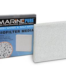 "Marine Pure MARINEPURE Biofilter Media Plates (8"" x 8"" x 1"")"