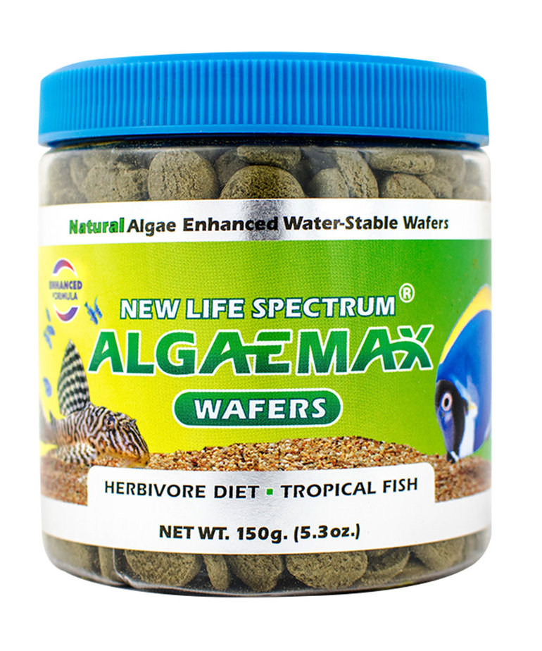 NEW LIFE SPECTRUM NEW LIFE SPECTRUM Algaemax Wafers - 12 mm Sinking Wafers - 150 g