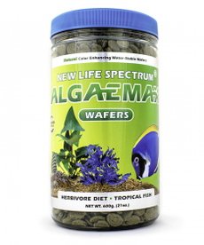 NEW LIFE SPECTRUM NEW LIFE SPECTRUM Algaemax Wafers - 12 mm Sinking Wafers 600 g