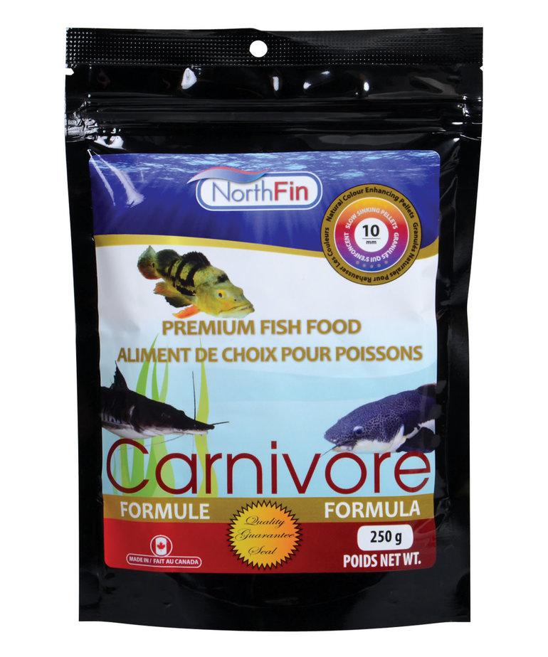 NorthFin NORTHFIN Mass Carnivore Formula - 10 mm Sinking Pellets - 250 g