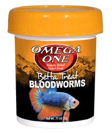 Omega One OMEGE ONE Freeze Dried Betta Treat - 11 oz