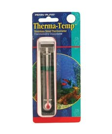 Penn Plax PENN PLAX Stainless Steel Thermometer