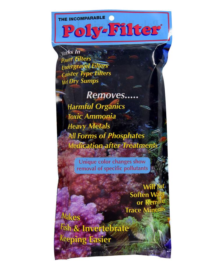 Poly-Bio Marine POLY-BIO MARINE Poly Filter Pad 4'' x 8''