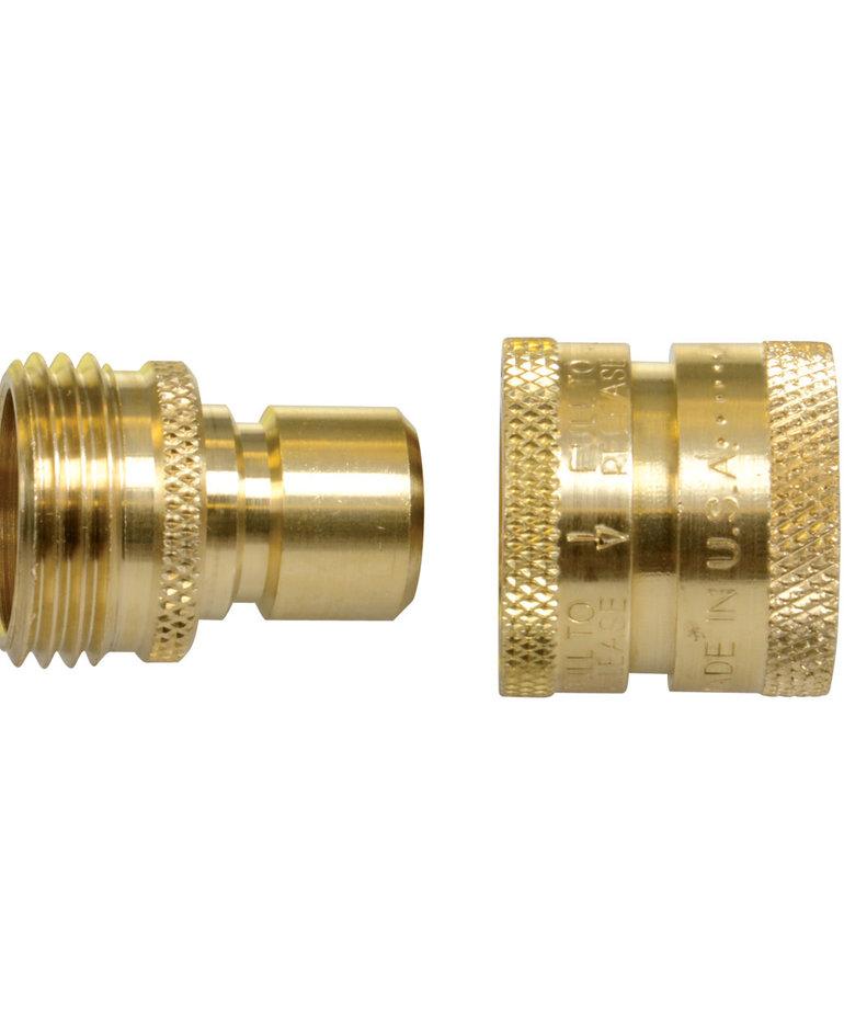 Python PYTHON Brass Snap Connector