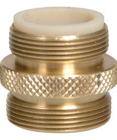 "Python PYTHON Male Brass Adapter - 13/16"" x 27 thread"