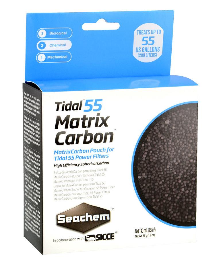 Seachem SEACHEM Tidal 55 Matrix Carbon - 140 ml (Bagged)
