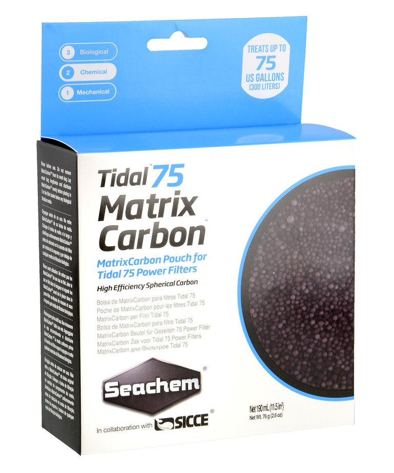 Seachem SEACHEM Tidal 75 Matrix Carbon - 190 ml (Bagged)