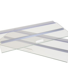 """SEAPORA Glass Canopy - 48"""" x 18"""""""