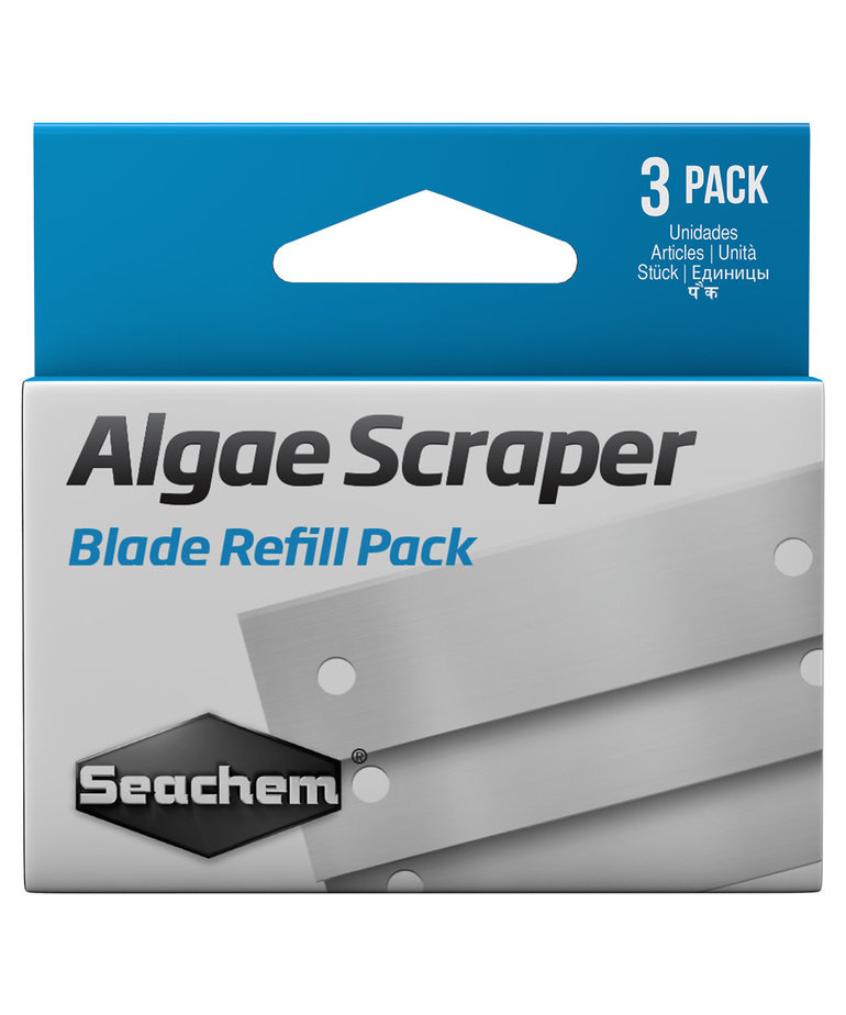 Seachem SEACHEM Algae Scraper Replacement Blades - 3 pk