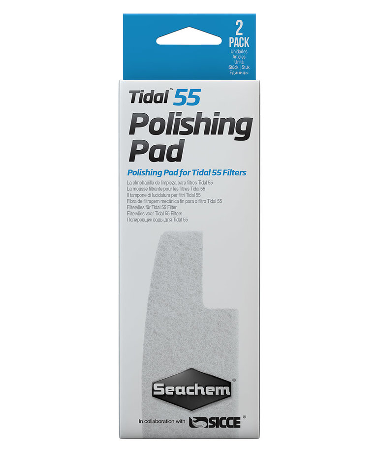 Seachem SEACHEM Polishing Pad - Tidal 55 - 2 pk