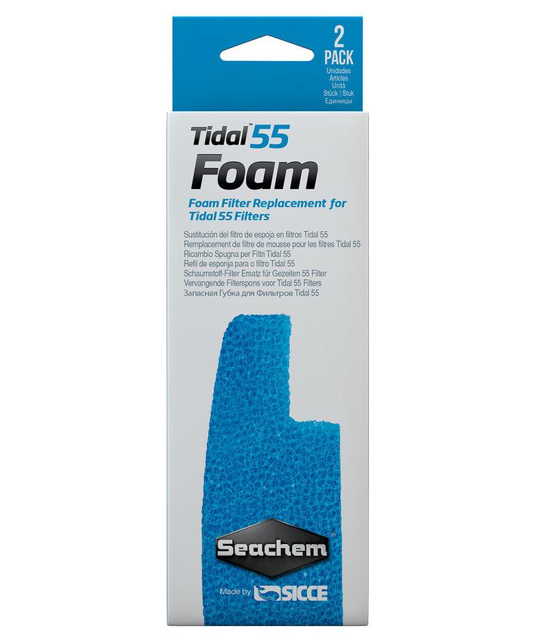Seachem SEACHEM Tidal 55 Foam - 2 pk