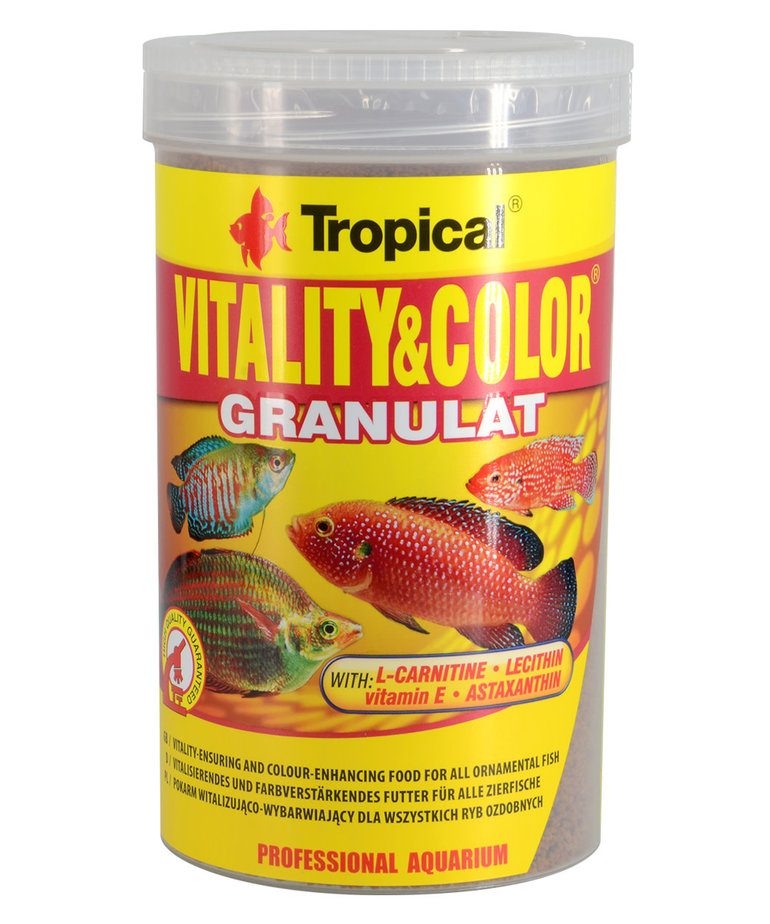 Tropical TROPICAL Vitality & color granulat - 550g