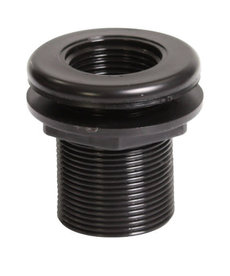 Lifegard LIFEGARD AQUATICS Double Threaded Bulkhead - 1""