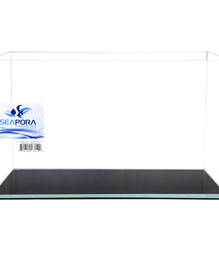 SEAPORA Crystal Series Aquarium 9 gal