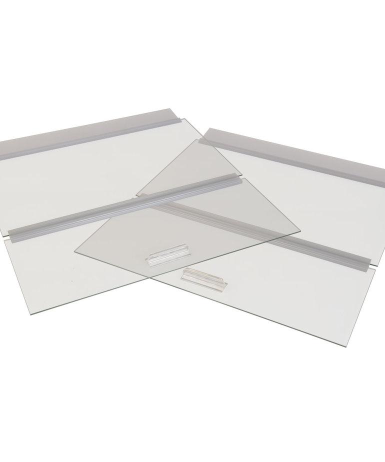 """SEAPORA Glass Canopy - 36"""" x 18"""""""