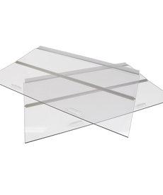 """SEAPORA Glass Canopy - 72"""" x 24"""""""