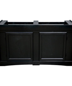 SEAPORA Monarch Cabinet Stand - Black - 48'' x 18''