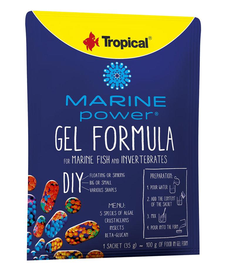 Tropical TROPICAL Marine Power Gel formula for marine fish and invertebrates - 35g