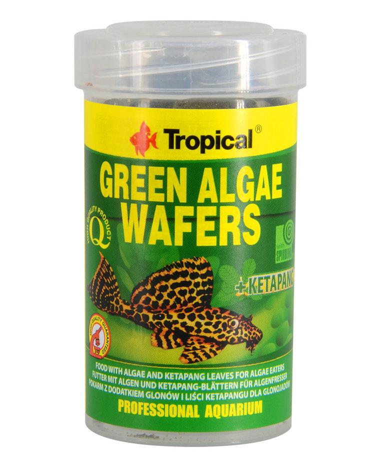 Tropical TROPICAL Green Algae Sinking Wafers - 45 g