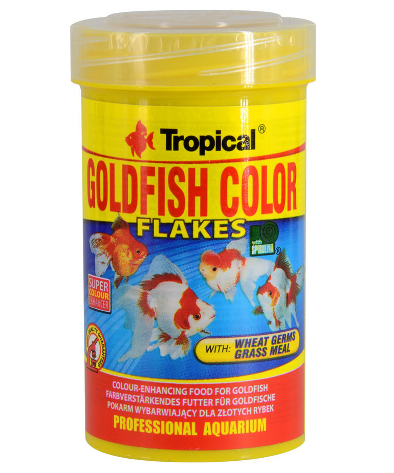 Tropical TROPICAL Goldfish Color Flakes - 20g