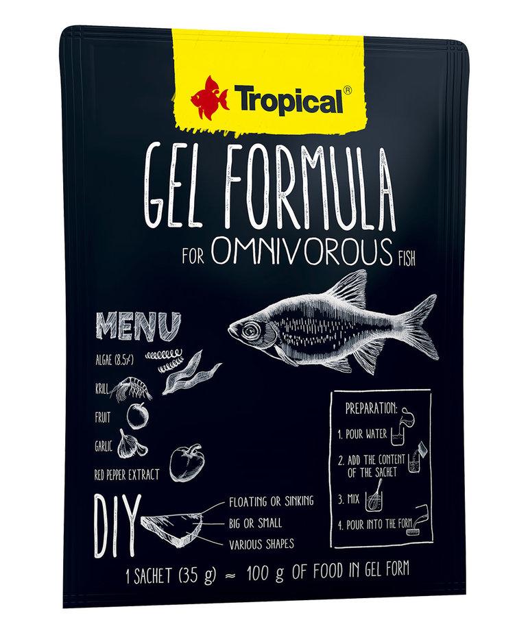 Tropical TROPICAL Gel formula for omnivorous fish