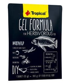 Tropical TROPICAL Gel formula for herbivorous fish - 35g