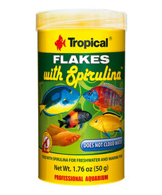 Tropical TROPICAL Flakes with Spirulina - 20g