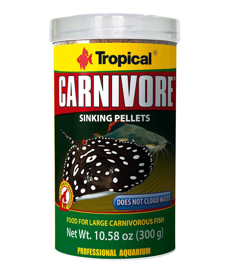 Tropical TROPICAL Carnivore Sinking Granules - 300 gr