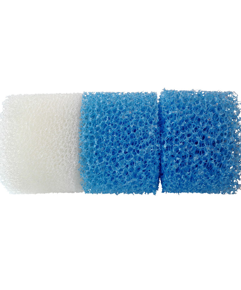 SICCE Kit 3 Foams for Micron Internal Filter - 2 Blue and 1 White