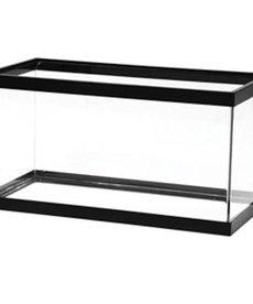 AQUEON Standard Aquarium - Black Frame - 15 gal - Clear Silicone