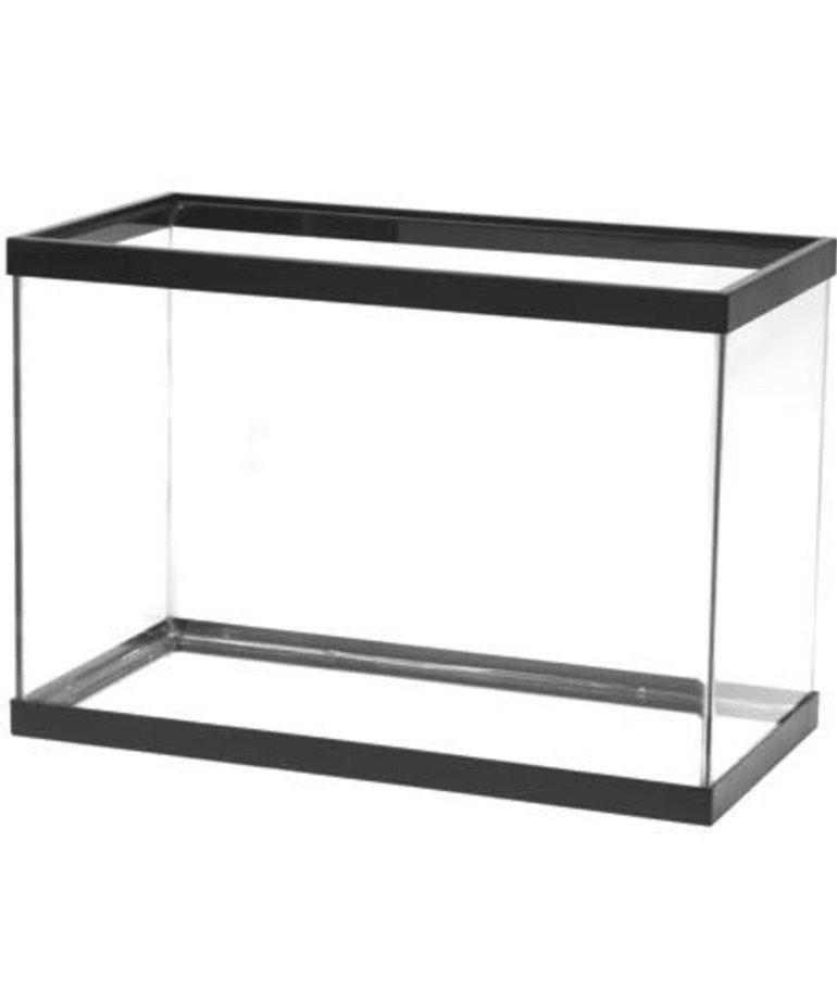 AQUEON Standard Aquarium - Black Frame - 20 gal - Clear Silicone