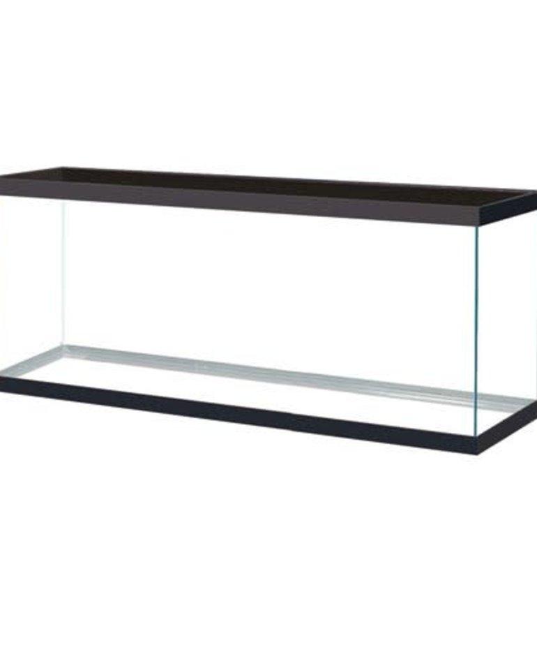 AQUEON Standard Aquarium - Black Frame - 120 gal - Clear Silicone