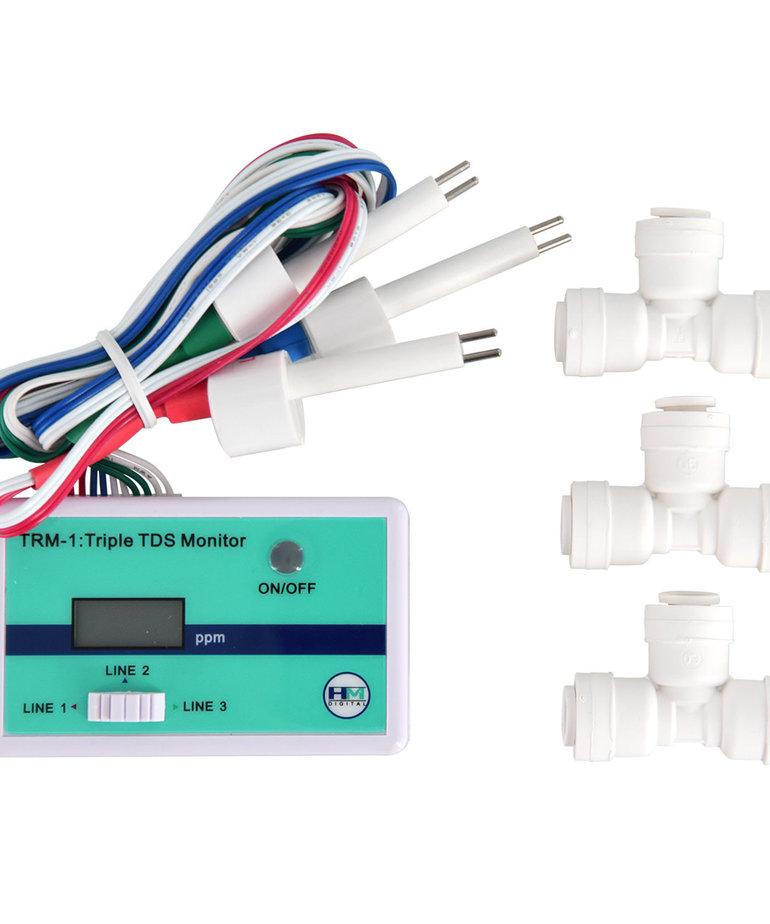 AQUATIC LIFE HM Digital Inline Triple TDS Monitor - TRM-1
