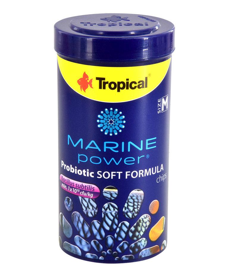 TROPICAL Marine Power Probiotic Soft Formula - Size M - 130 g