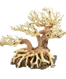 UNDERWATER TREASURES Bonsai Wood With Rock Sm
