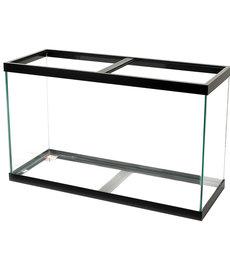 AQUEON Standard Aquarium - Black Frame - 90 gal - Black Silicone