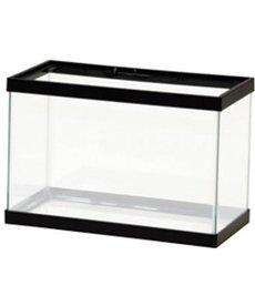 AQUEON Standard Aquarium - Black Frame - 2.5 gal - Clear Silicone