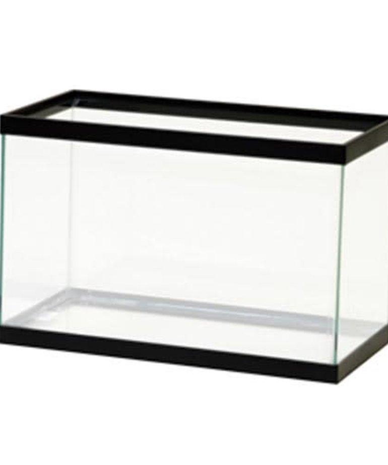 AQUEON Standard Aquarium - Black Frame - 5.5 gal - Clear Silicone