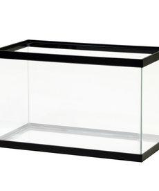 AQUEON Standard Aquarium - Black Frame - 10 gal - Clear Silicone