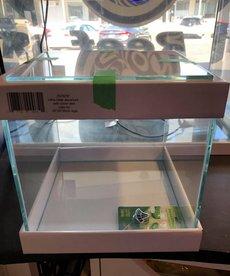 Ultra clear aquarium avec couvercle en verre - 25x25x25 - 4 gal
