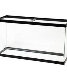 AQUEON Standard Aquarium - Black Frame - 38 gal - Clear Silicone