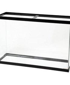 AQUEON Standard Aquarium - Black Frame - 45 gal - Clear Silicone