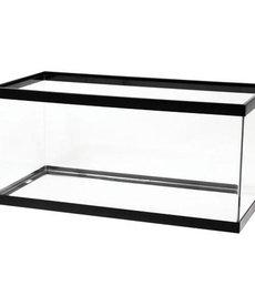AQUEON Standard Aquarium - Black Frame - 40 gal Breeder - Clear Silicone