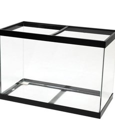 AQUEON Standard Aquarium - Black Frame - 65 gal - Clear Silicone