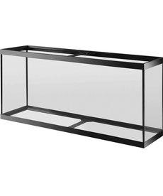 AQUEON Standard Aquarium - Black Frame - 55 gal - Black Silicone