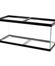 AQUEON Standard Aquarium - Black Frame - 75 gal - Black Silicone